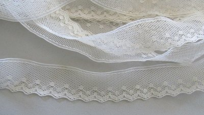 Cream Netting Lace
