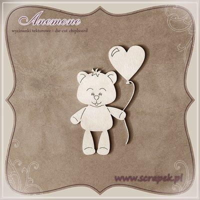 Teddy Bear with Balloon 2