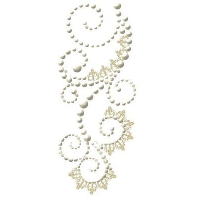 Prima - Say It In Pearls - Swirl With Lace - Vauderville Cream