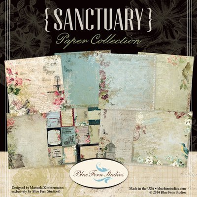 BLUE FERN STUDIOS Sanctuary 12x12 - Click to Select