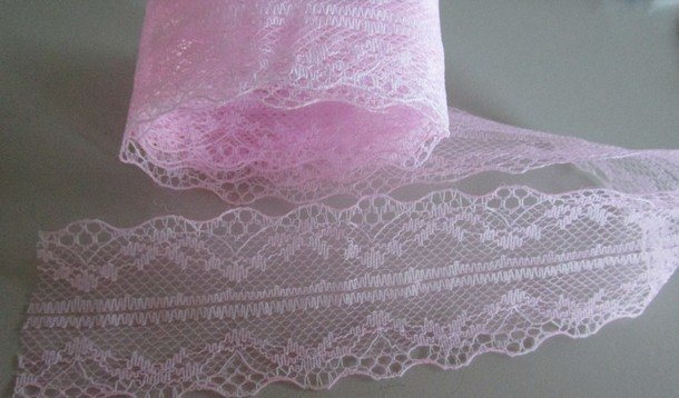Pink Bilateral Lace