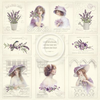 PION DESIGN Scent of Lavender - Images From the Past