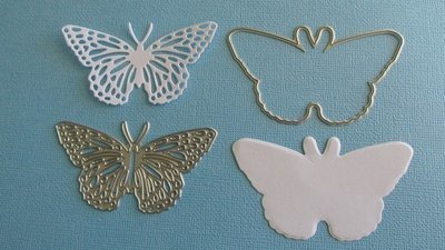 Butterfly die set