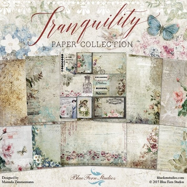 BLUE FERN STUDIOS Tranquility 12x12 - Click to select