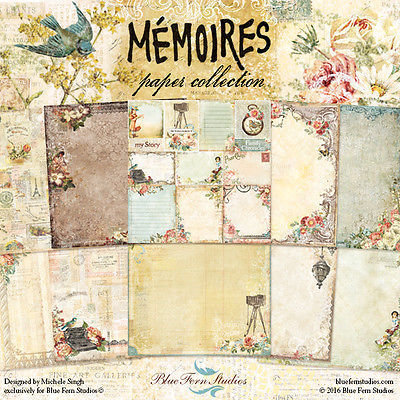 BLUE FERN STUDIOS Memoires 12x12 - Click to select