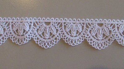 Flower Arch Lace - White