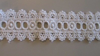 Ribbon Lace - White