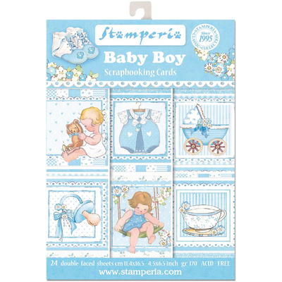 BABY BOY SCRAPBOOKING CARDS