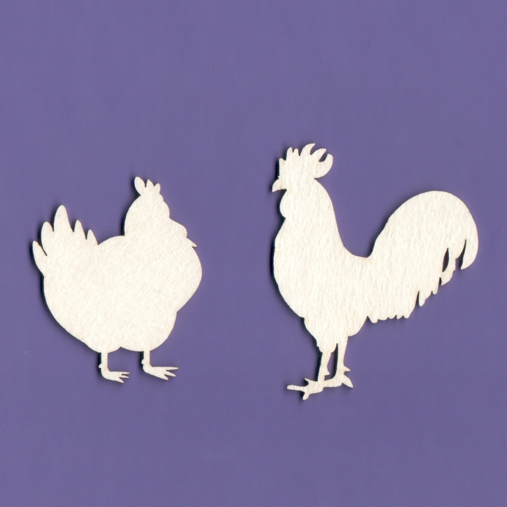 Rooster & Chicken