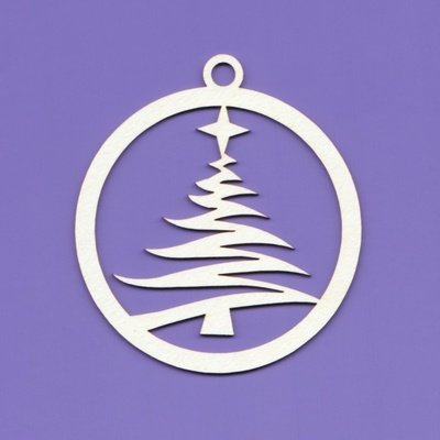Pendant Christmas Tree