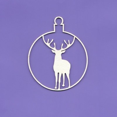 Stag in Bauble
