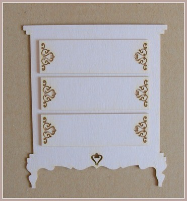 Chest of Drawers 2D