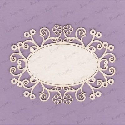 Decorative Oval Frame 4