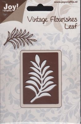 Vintage Flourishes - Leaf 1 die