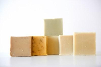 LOT de 6 SAVONS sans huile essentielle