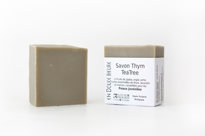 Savon THYM TEA TREE