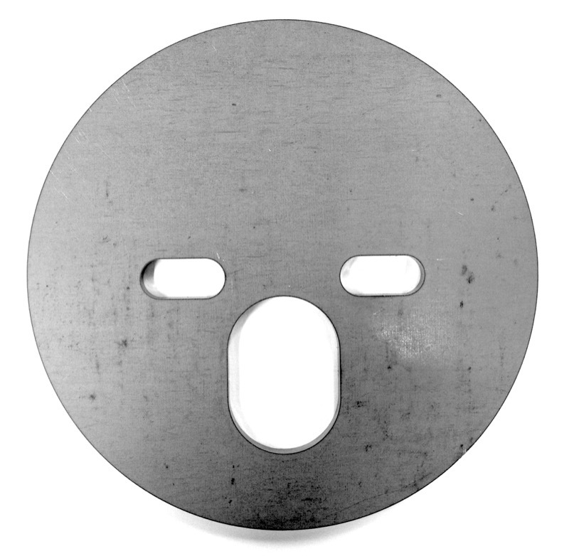 "Air Bag Plate, 5-1/2"" diameter"