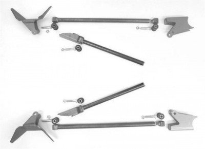 Triangulated Four Link Kit for 8.8 or GM