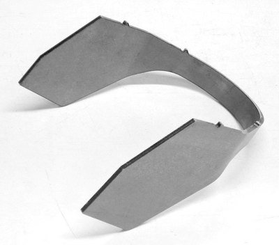 Mustang II upper tower wrap around plate, PS
