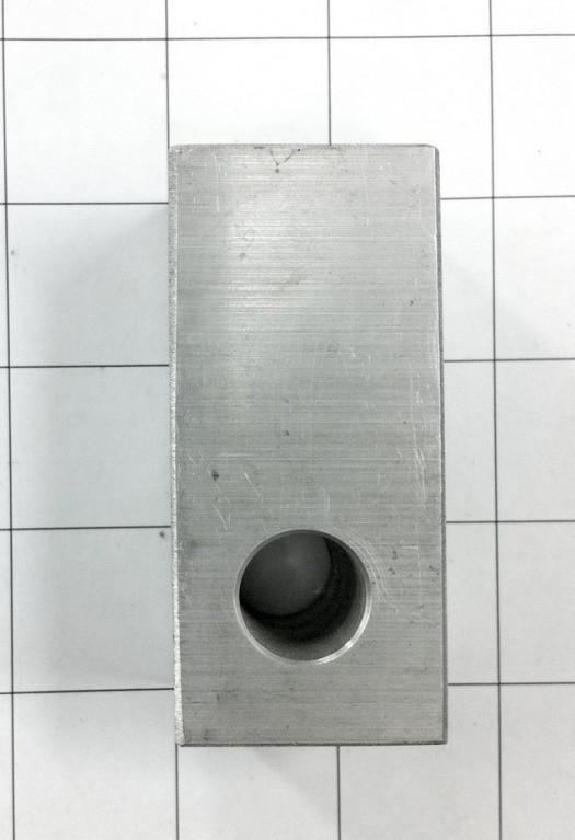 Aluminum Block for Lower Coilover Mount