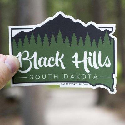 Black Hills Sticker