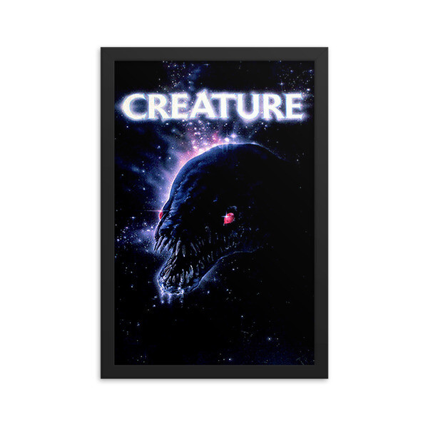 """12"""" x 18"""" Creature Framed Movie Poster"""