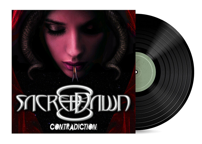 """Contradiction by Sacred Dawn [7"""" Vinyl Single] + CD"""