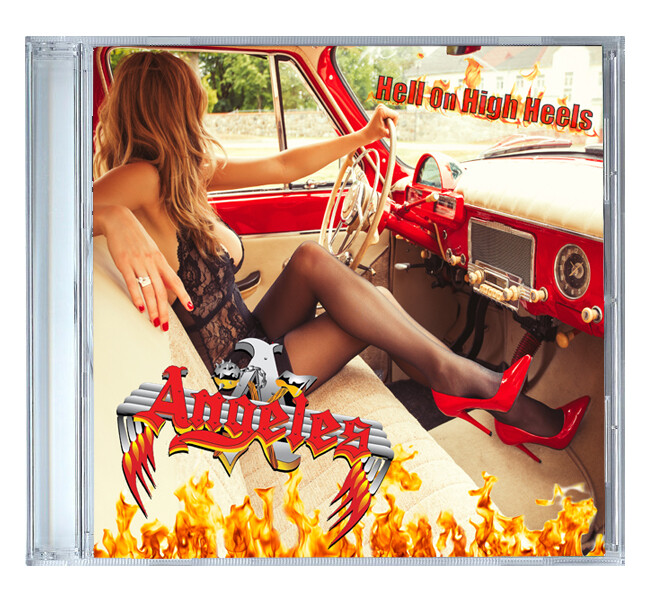 Hell On High Heels by Angeles [CD]