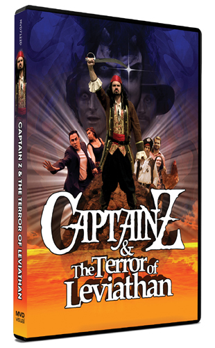 Captain Z & the Terror of Leviathan [DVD]