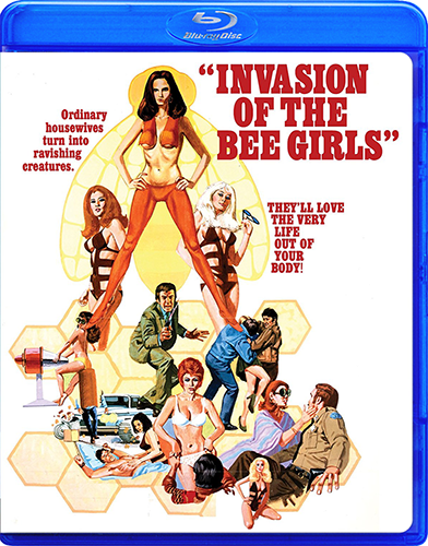 Invasion of the Bee Girls [Blu-ray Rentals]