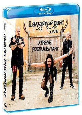 Leaving Eden Live Xtreme Rockumentary [Blu-ray]