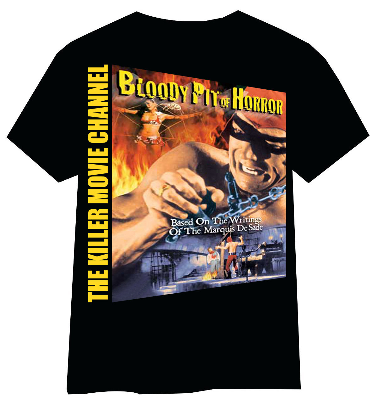 Bloody Pit of Horror T-Shirt