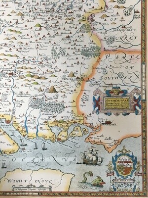 Hampshire Map 1575