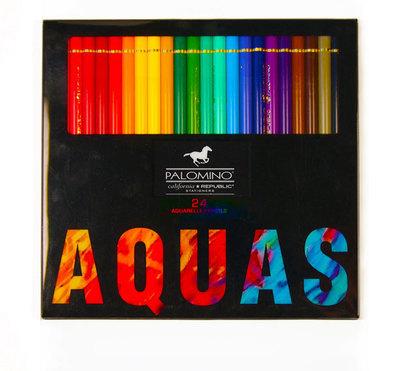 Palomino Aquarell Watercolor Pencils - 24 pencils