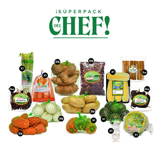 ¡Súperpack de Chef!
