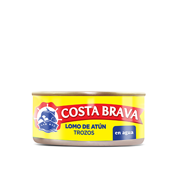 Lomo de Atún en Trozos en Agua Costa Brava® - 150g
