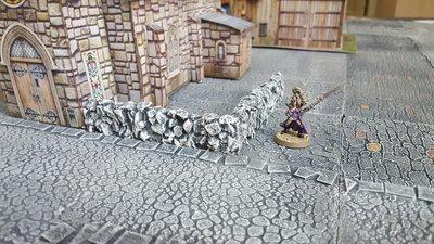 Irregular Stone Walls, Set of 2