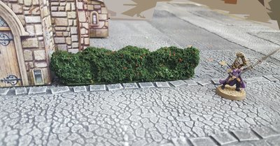 Hedges, Set of 2 - Painted or Flocked