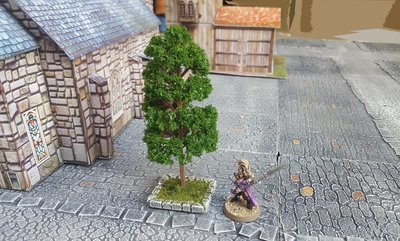 Urban Based Trees, Set of 2