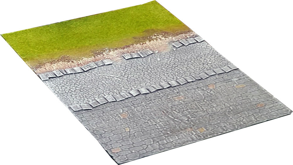 "TRANSITION Urban Tile ""Straight Road"" (ACROSS)"