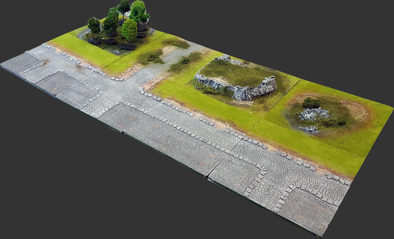 Outskirts Set 4'x2' Urban Extension