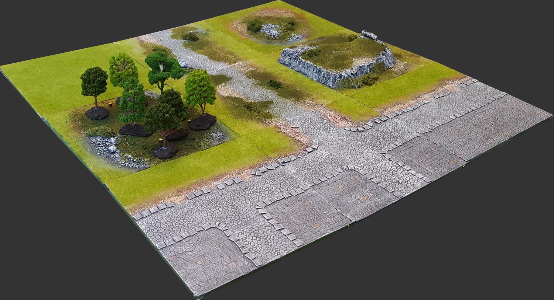 Outskirts Set 3'x3' Urban Extension