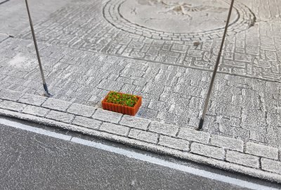 Flower Bed with Box, Magnetic