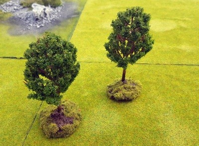 Magnetic Trees, Set of 2, Scale 20-28mm