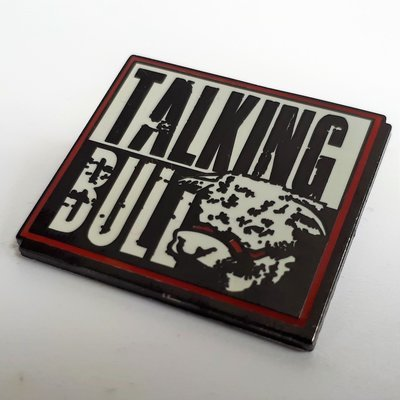 Talking Bull - Enamel Badge
