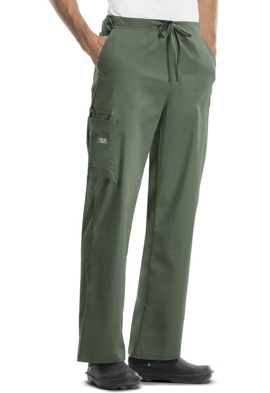 Pantalone Unisex CHEROKEE CORE STRETCH 4043 Colore Olive