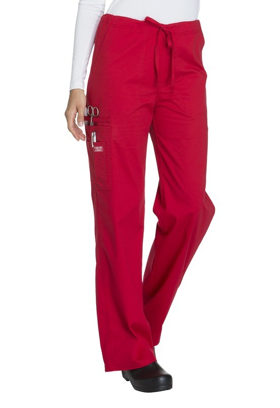 Pantalone Unisex CHEROKEE CORE STRETCH 4043 Colore Red