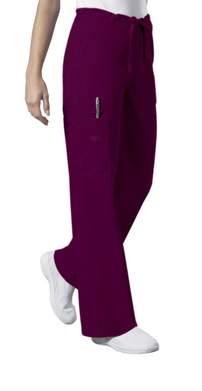 Pantalone Unisex CHEROKEE CORE STRETCH 4043 Colore Wine