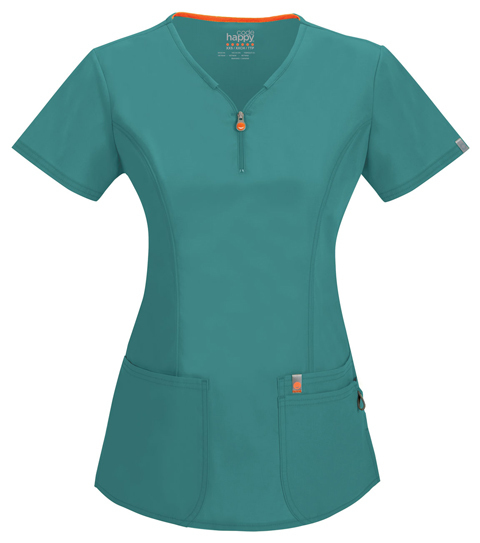 Casacca Code Happy 46600A Donna Colore Teal - FINE SERIE