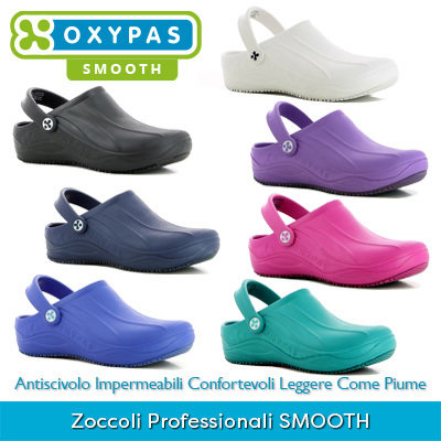 Zoccoli Professionali Oxypas SMOOTH